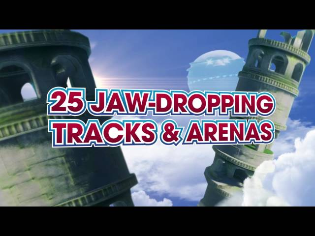 Sonic & All-Stars Racing Transformed - UK Release Trailer