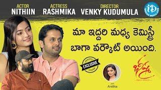 Bheeshma Movie Team Exclusive Interview | Nithiin | Rashmika | Venky | Talking Movies With iDream - IDREAMMOVIES