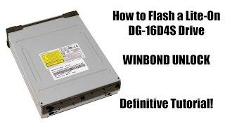 How to Flash an Xbox 360 Slim DG-16D4S Winbond Drive