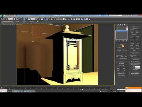 3ds Max Tutorial Pt. 11 - Interior Lantern Scene