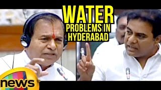 Ramchandra Reddy Vs KTR | Ruckus In TS Assembly Over Water Problems in Hyderabad | Mango News - MANGONEWS