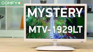 Mystery MTV-1929LT2 - бюджетный телевизор с небольшими габаритами - Видео демонстрация