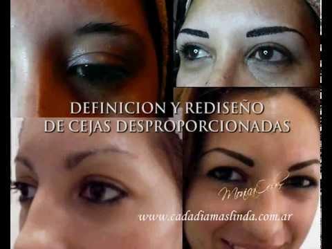 Maquillaje Permanente cejas ojos y labios.avi