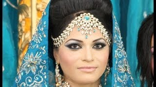 Arabic bridal Pakistani bride & Indian Bridal Makeup - Less is More - by Zukreat.com view on youtube.com tube online.