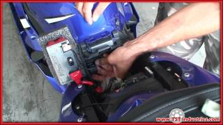 2006 2007 yamaha r6 led flasher relay installation diy youtube rh youtube com