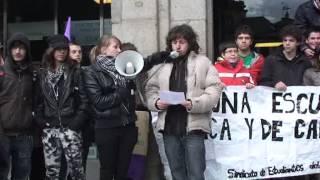 Los estudiantes de Secundaria claman contra los recortes de Wert