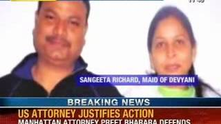 NewsX: US attorney justifies action on Devyani strip search case - NEWSXLIVE