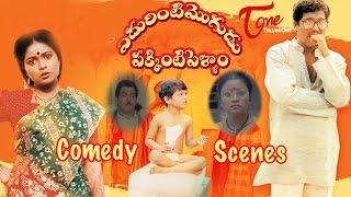 Edurinti Mogudu Pakkinti Pellam  Movie Comedy Scenes    Back to Back    Rajendra Prasad    Divyavani - TELUGUONE