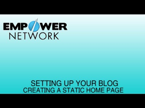  Empower Network Marketing Blog Setup |