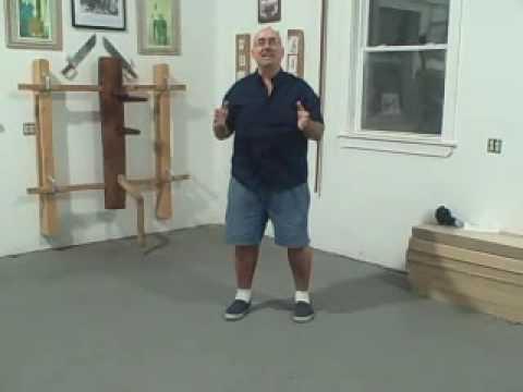 Ving Tsun Wing Chun Walking Drills - Sifu Tom Chi