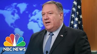 Secretary of State Mike Pompeo On Saudi Arabia: 'They Are An Important Partner Of Ours'   NBC News - NBCNEWS