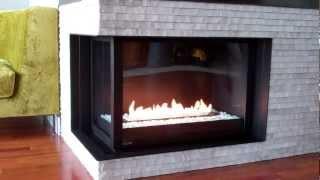 Montigo Left Corner Unit Fireplace HL38DF-CL by Colorado Custom ...