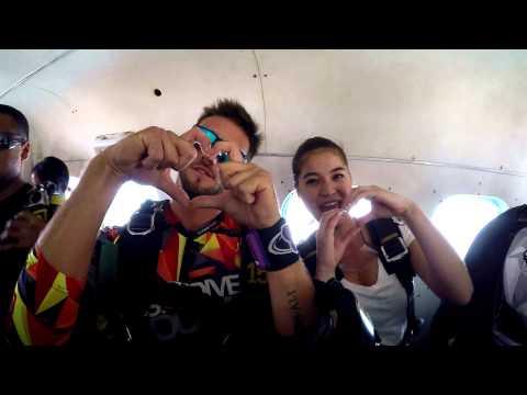 Anne Curtis goes Sky Diving in Dubai