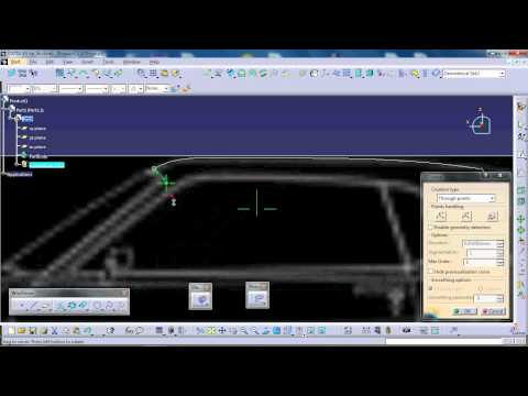 CATIA V5 GENERATIVE SHAPE DESIGN WORKBENCH