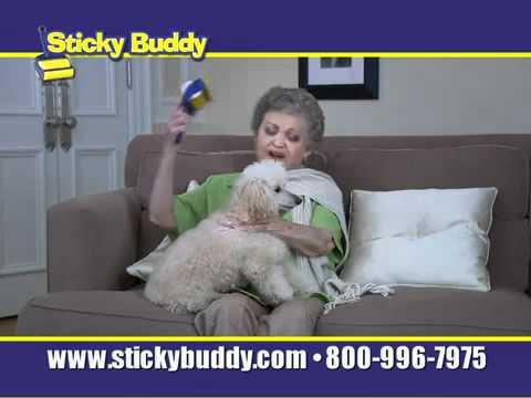Sticky Buddy Dub - Old Lady Scene!