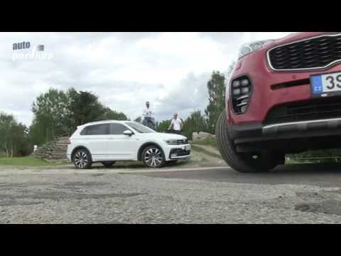 Autoperiskop.cz  – Výjimečný pohled na auta - Porovnávací test: KIA SPORTAGE vs VW TIGUAN