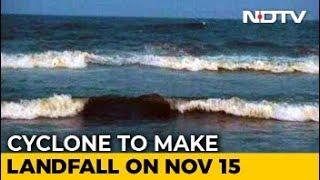 Cyclone Gaja Likely To Cross Tamil Nadu Coast On November 15 Afternoon - NDTV