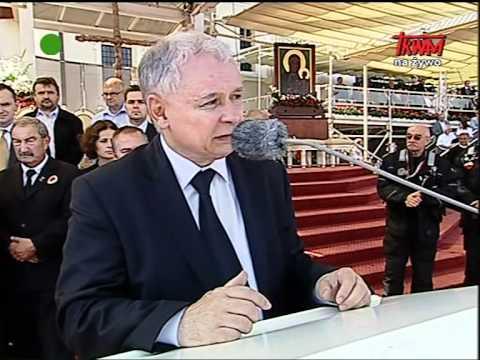 Jarosław Kaczyński na Jasnej Górze