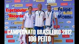 Campeonato Brasileiro Juvenil de Inverno 2012 - 100 Peito view on youtube.com tube online.
