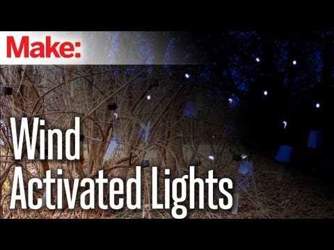 DIY Hacks & How To's: Wind Activated Lights
