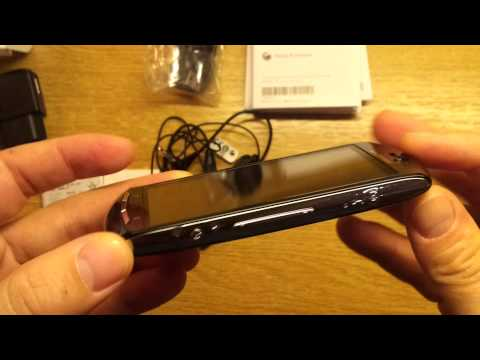 Sony Ericsson Xperia neo V (Unboxing, First quick run Xperia NEO V) 1080p