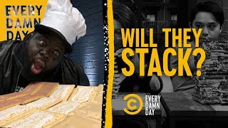 Will It Stack? Pop-Tart Edition - COMEDYCENTRAL