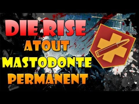 Die Rise Black Ops 2 Zombies Secret: Obtenir l'atout permanent Mastodonte! (Easter egg)