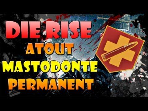 Die Rise Black Ops 2 Zombies Secret: Obtenir l'atout permanent Mastodonte! (Easter egg)