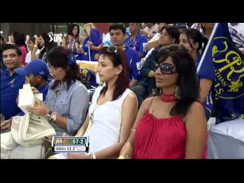 Gauri Tejwani in IPL match