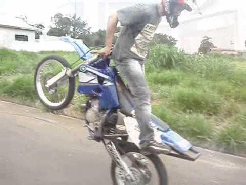 Empinando De Costas Piloto Danone Equipe Radical Moto Show ...