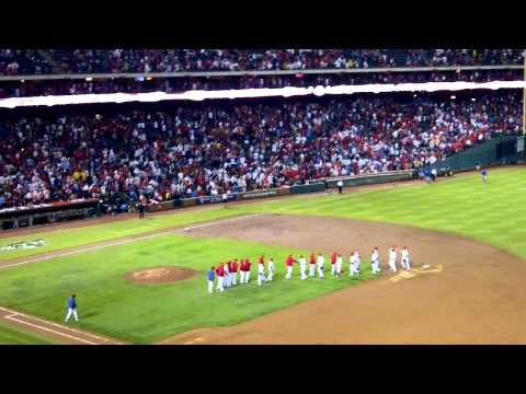 TX Rangers ALCS Game 1 Final Pitch (Raw HD)