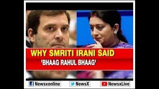 Lok Sabha Elections 2019: Why Smriti Irani slams Rahul Gandhi to contest from Amethi and Wayanad? - NEWSXLIVE