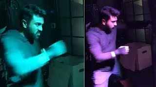 Mega Power Star Ram Charan Gym Workout Video | Ram Charan Gym Workouts | TFPC - TFPC