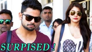 Virat's Surprise Entry on the Sets makes Anushka NERVOUS - ZOOMDEKHO