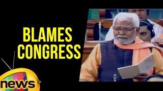 Hukmdev Narayan Yadav Blames Congress Over Farmers Migration | Part 1 | Mango News - MANGONEWS