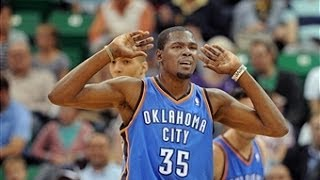 Kevin Durant Pours In 42 Points In OKC's Opener