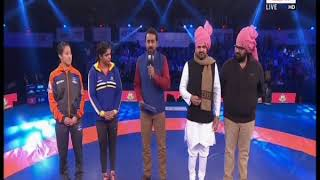PWL 3 Day 12: Haryana Hammers won the toss against Mumbai Maharathi and blocked 92 kgs Men at PWL 3 - NEWSXLIVE