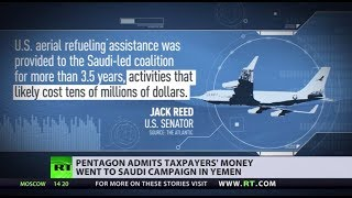 Oops! US taxpayers paid for refueling of Saudi jets bombing Yemen due to 'accounting error' - RUSSIATODAY