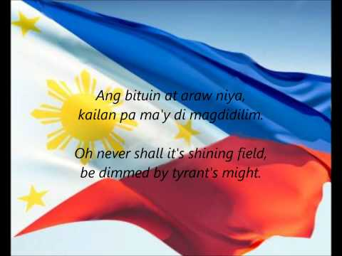 "Philippine National Anthem - ""Lupang Hinirang"" (FI/EN)"