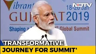 """India Ready For Business As Never Before"": PM At Vibrant Gujarat Summit - NDTV"