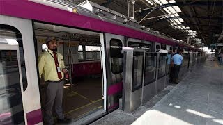 Travel from Noida to South Delhi in 16 minutes post Magenta Line inauguration - TIMESOFINDIACHANNEL