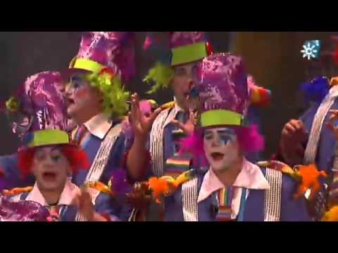 Sesión de Final, la agrupación La cañonera actúa hoy en la modalidad de Coros.