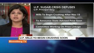 Newsroom: U.P. Sugar Crisis Defuses - BLOOMBERGUTV