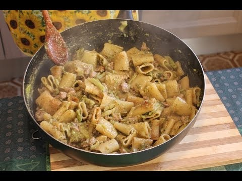 Paccheri del Capo dei Capi (ricetta siciliana)