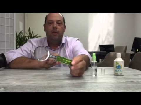 Aplicação do Vidro Liquido e seu resultado na peneira!