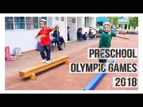 Preschool Olympic Games 2018