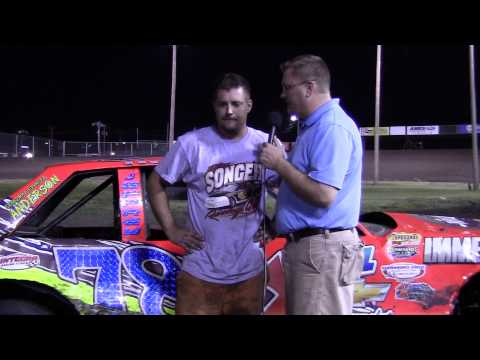 Shannon Anderson Hobby Stock feature winner 6/22/13