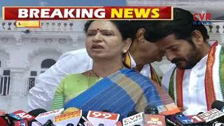 Congress Leader DK Aruna Comments On KCR | CVR News - CVRNEWSOFFICIAL