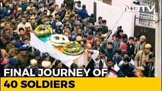 India Says Farewell To Its Soldiers - NDTV