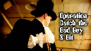 Royalty Free Eight Bit Comedy Background:Operation Catch the Bad Guy 8 Bit